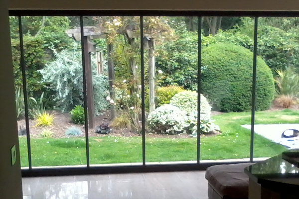 Double Glazed Frameless Door Patio Doors Aluminium