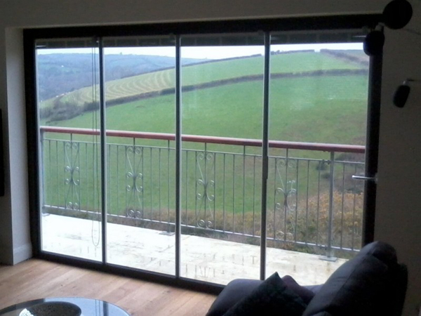 Frameless Patio Door